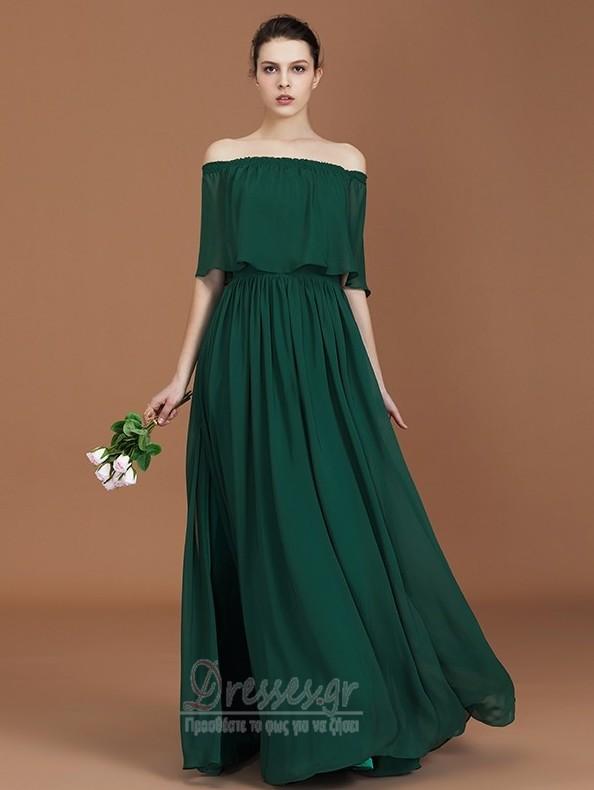 10d899b08d5 Ντραπέ Φερμουάρ επάνω Φθινόπωρο Γραμμή Α Παράνυμφος φορέματα ...