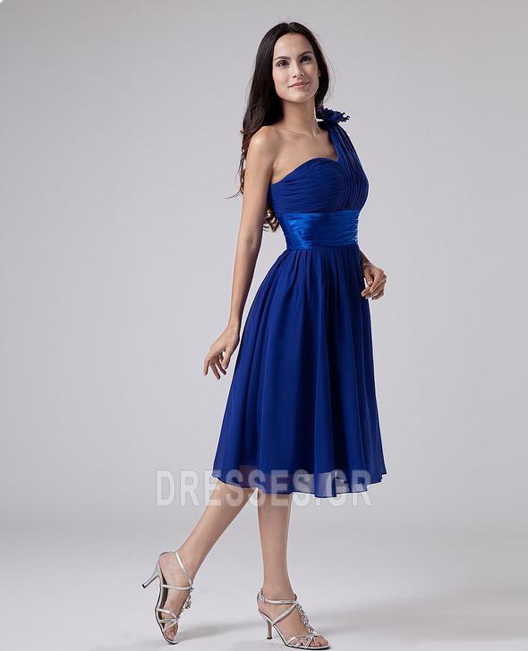 Οι πτυχωμένες μπούστο Σιφόν απλός Γραμμή Α Παράνυμφος φορέματα - Σελίδα 3