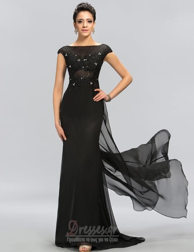 c690b91df054 Δαντέλα Δαντέλα επικάλυψης Προσαρμοσμένες μανίκια Βραδινά φορέματα - Σελίδα  1 ...